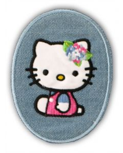 Strygelap Hello Kitty med blomster